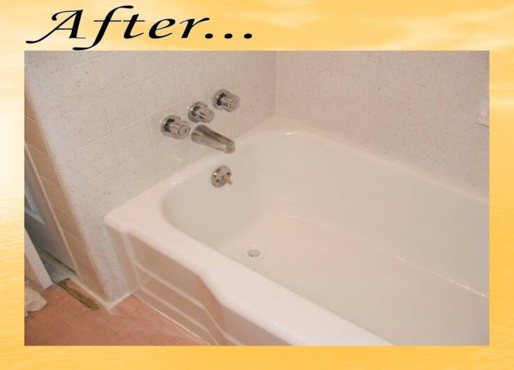 Antique Tub Refinishing